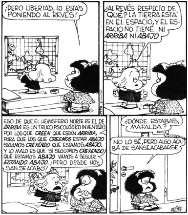 Quino 1972 Comic Strip
