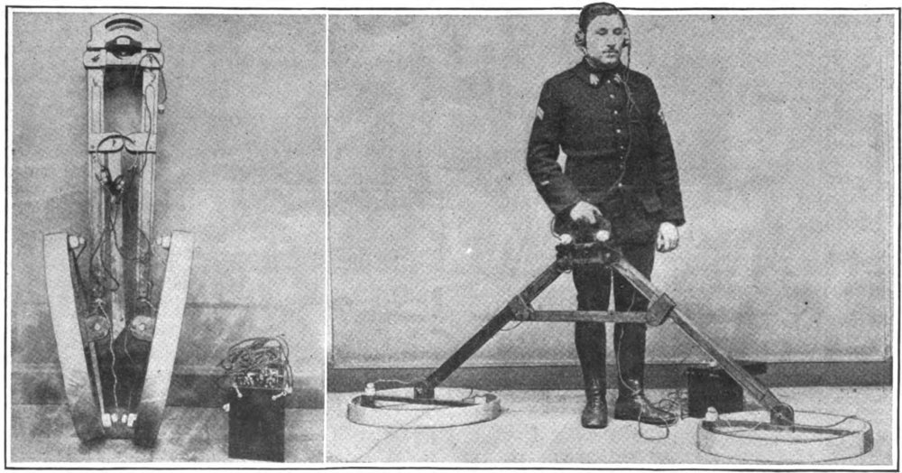 Metal detector from WW1