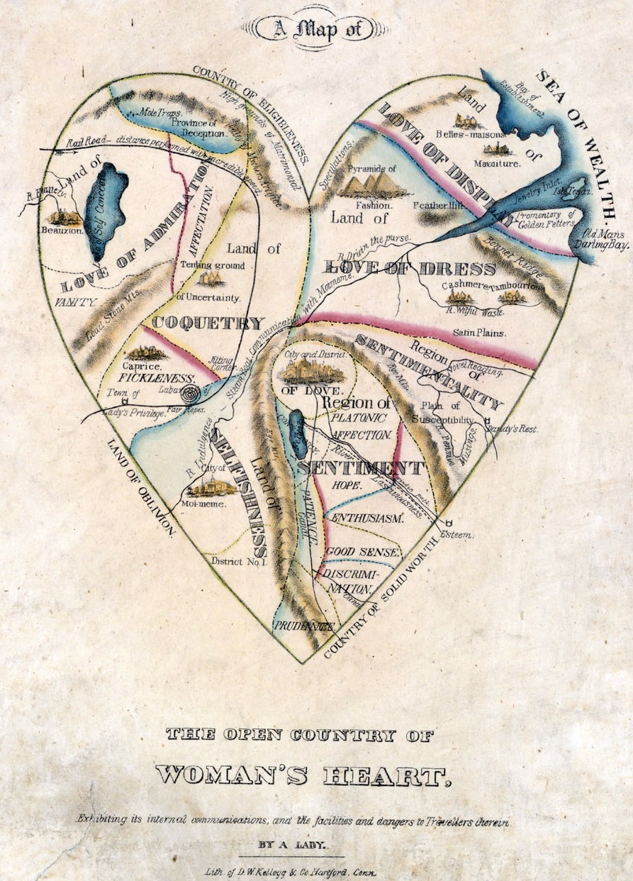 A Map of the Open Country of a Woman's Heart