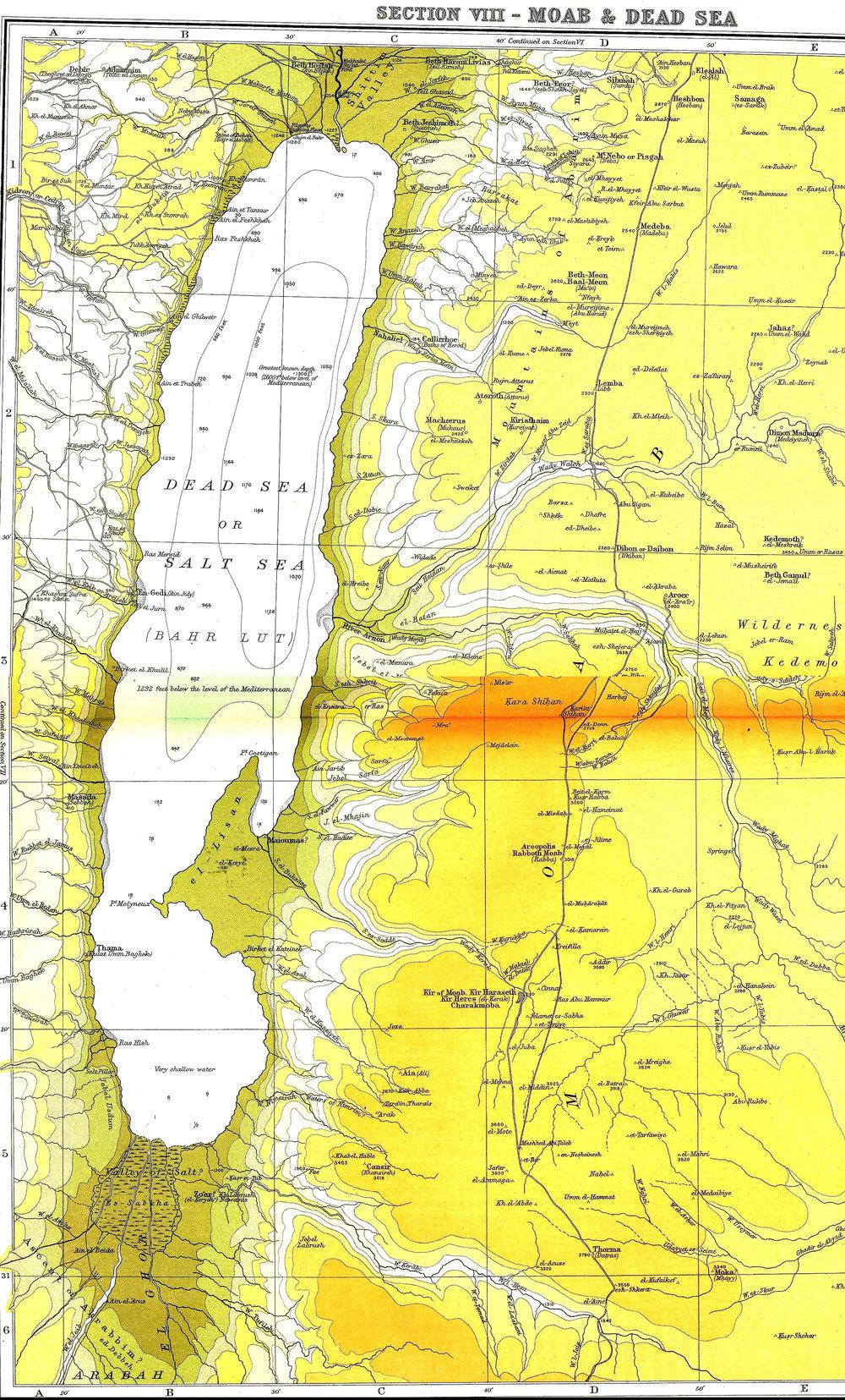 Moab & Dead Sea