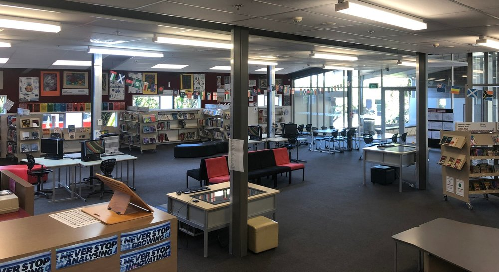 Kia Aroha College Library & Information Centre
