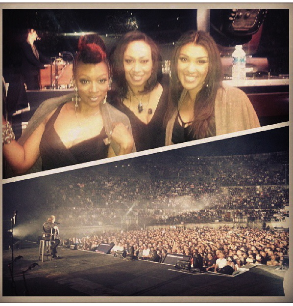 Nimes with Sy Smith and Carmel Helene