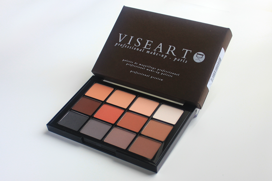 Vistart Neutral Matte palette review