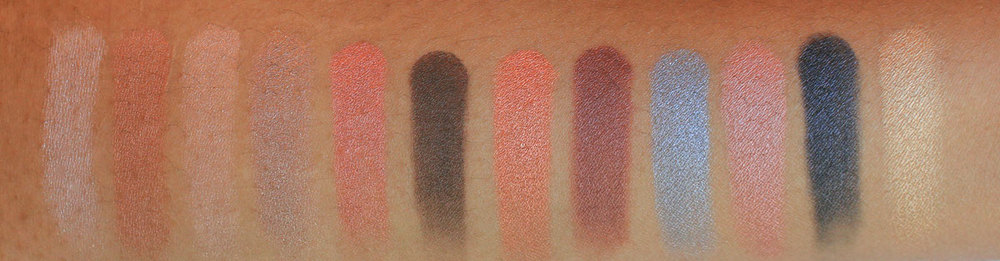 Viseart Sultry Muse Swatches