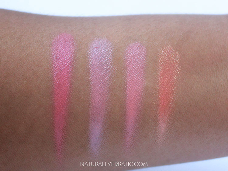 NYX Cream blush, glow, boho chic, natural, tickled