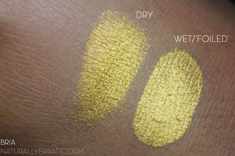 Sugarpill Goldilux Swatch