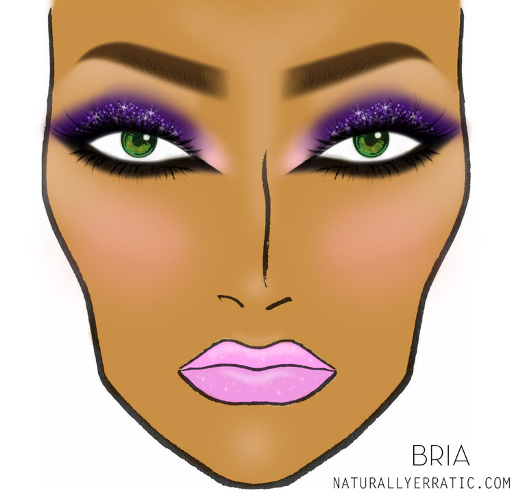 Face chart, Makeup Face Chat, Mac Face Chart, Blank Face Chart