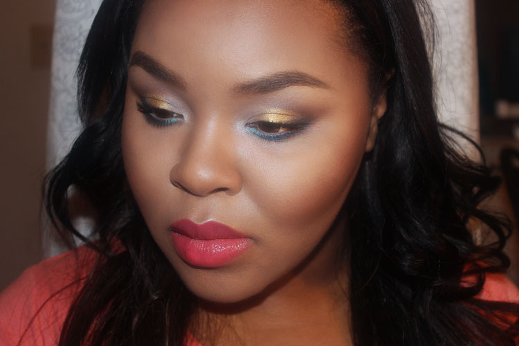Contour for dark skin, Shocking Coral, How to contour