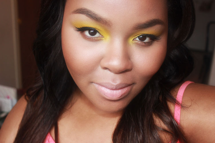 Yellow Eye Makeup, Yellow Eye Shadow, Yellow Makeup