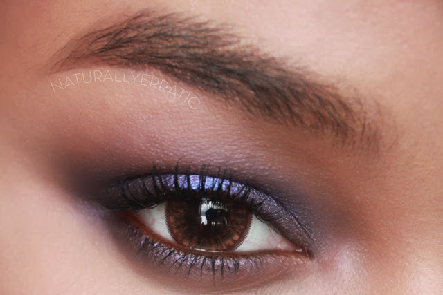 Purple Makeup, smokey eye, subtle smokey eye