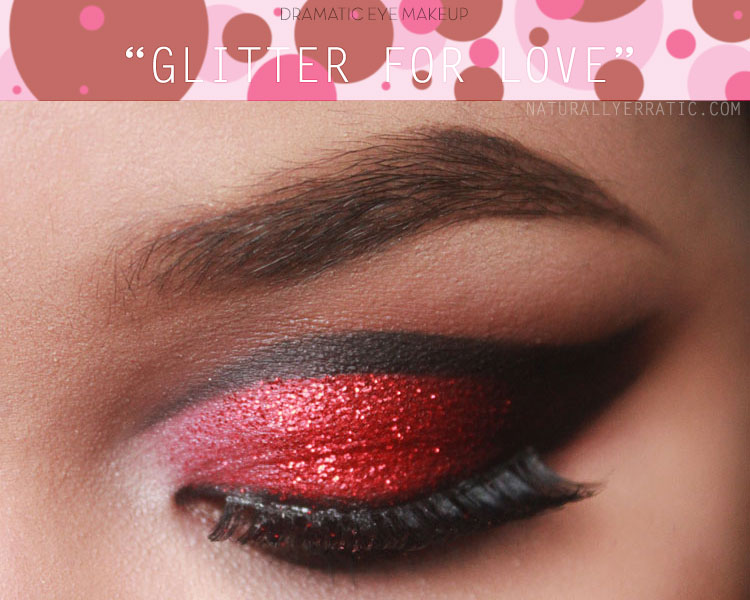 Glitter Makeup Red Makeup Valentines