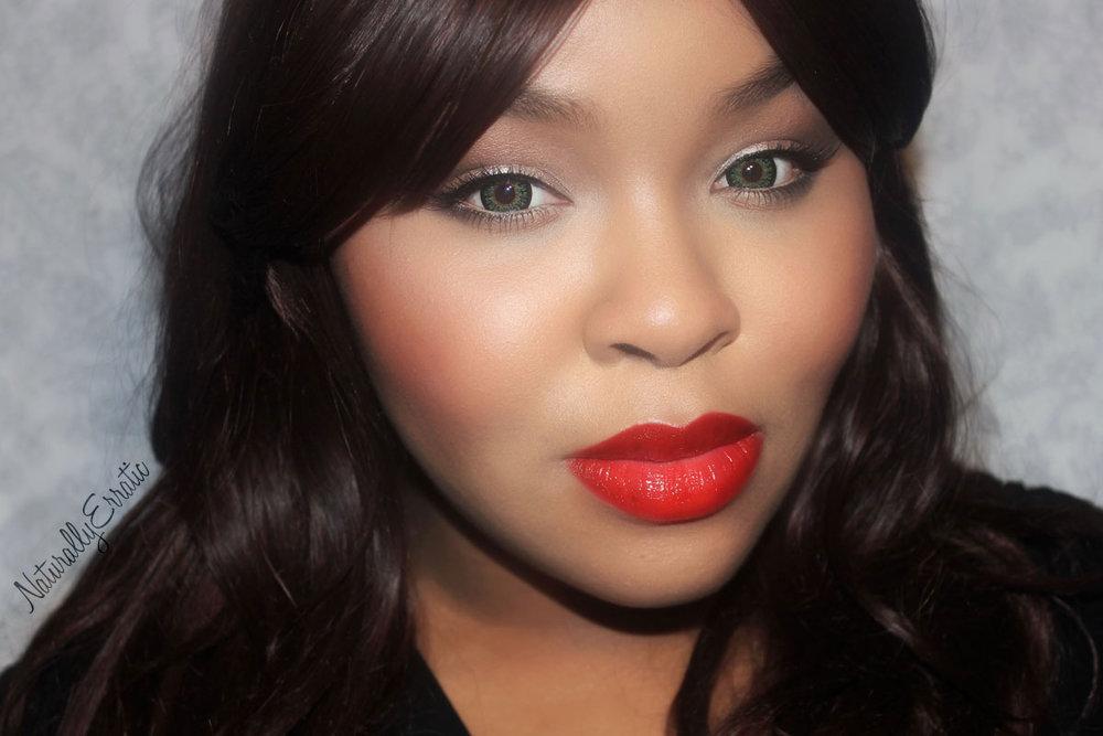 Valentines Day Makeup, Red Lipstick