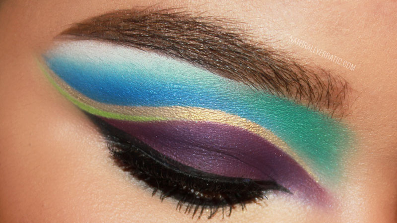 sugarpill cosmetics, makeup blog, eotd