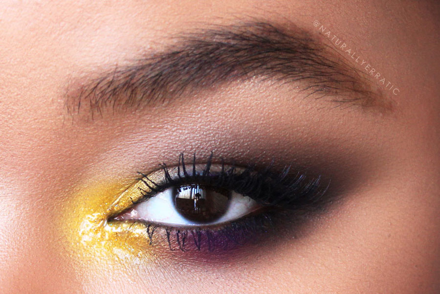 Yellow Summer Eye Makeup