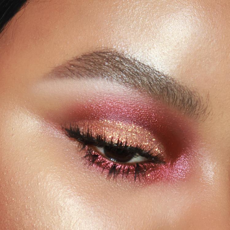 Firestarter Red Smokey Eye Makeup Naturally Erratic