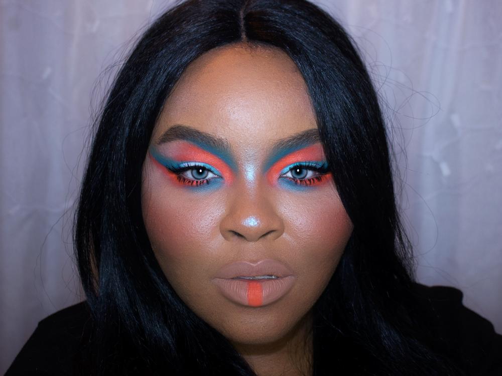 Aaliyah Makeup, Neon Makeup