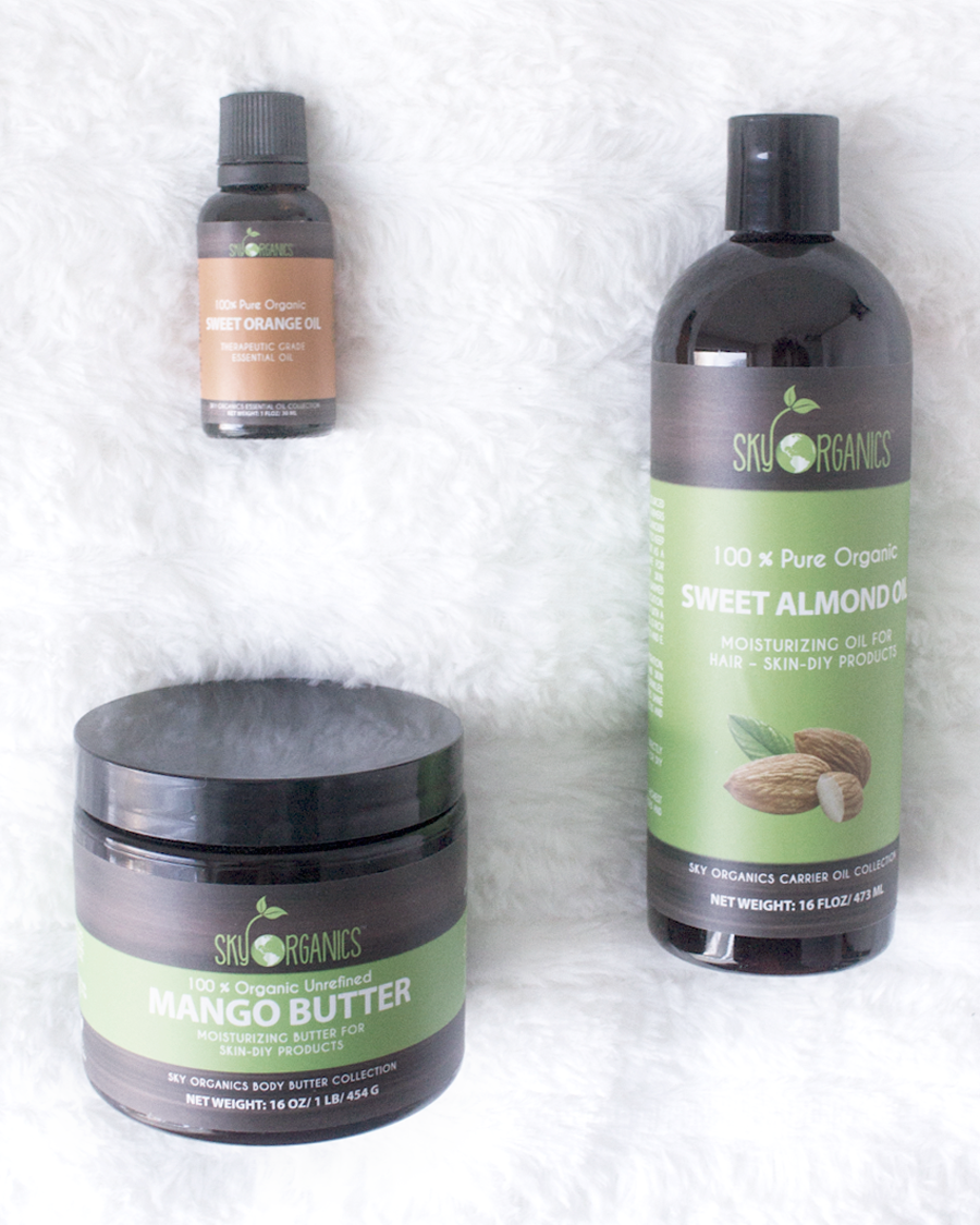 Sky Organics Review, Mango Butter, Almond Oil