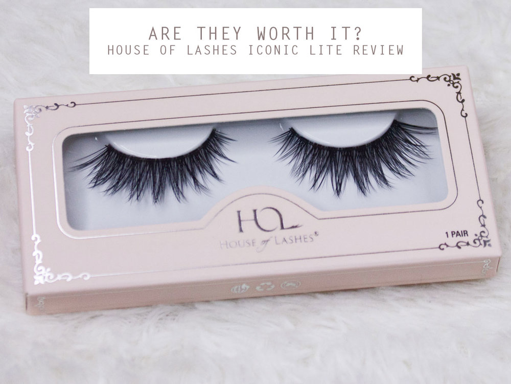 House of Lashes Iconic Lite Review