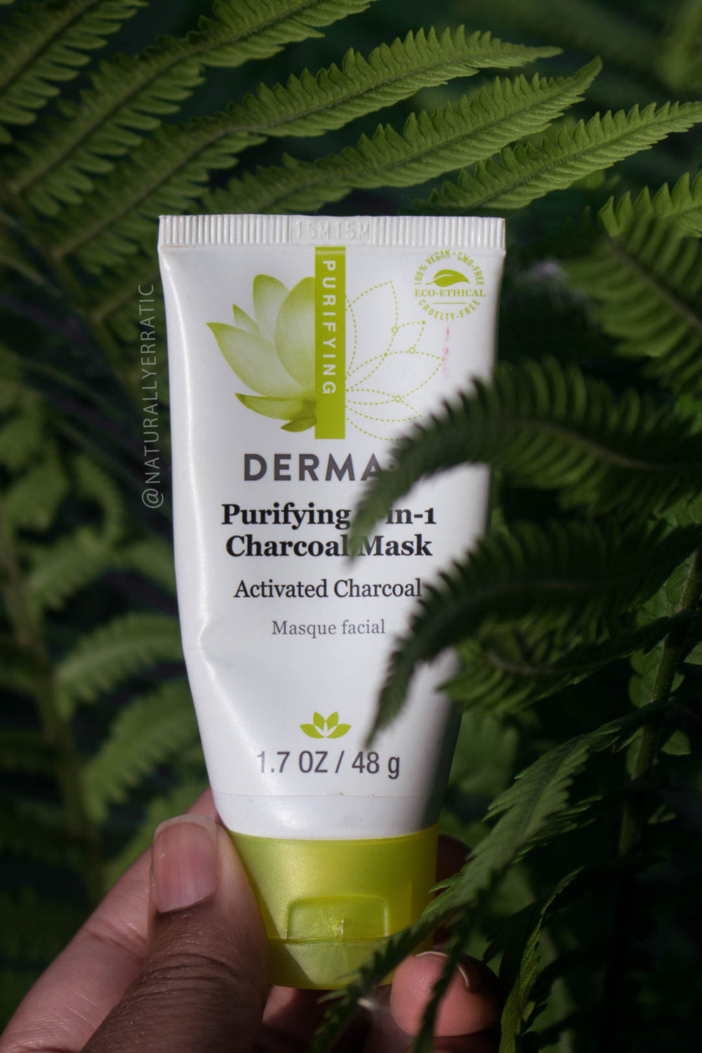 derma e purifying charcoal mask review