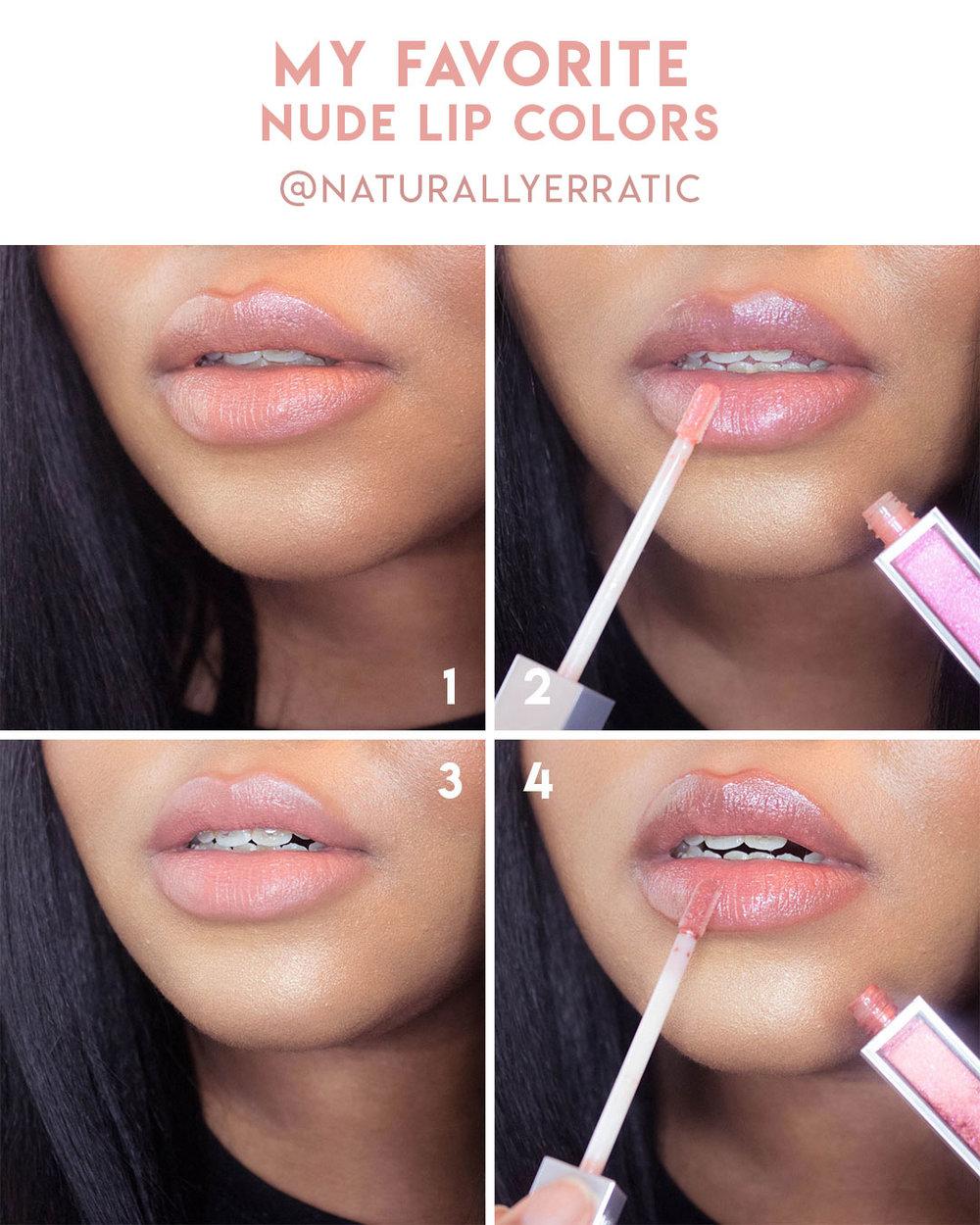 nude lipsticks for dark skin