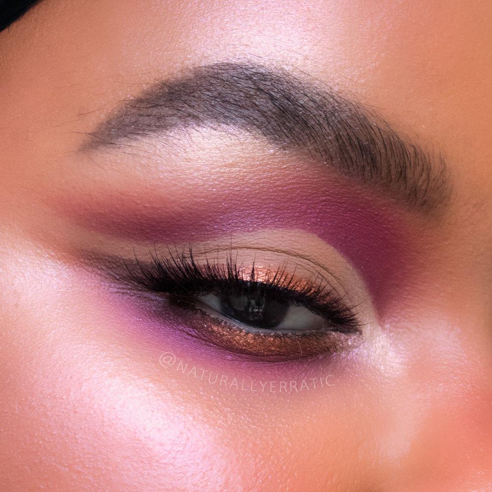 cut crease makeup