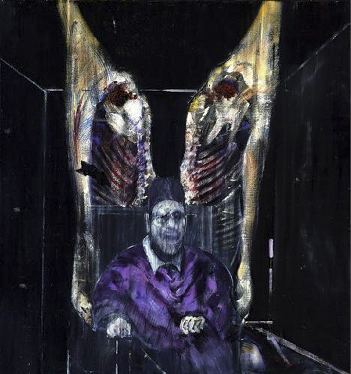 "Francis Bacon, ""Figure with Meat,"" 1954"