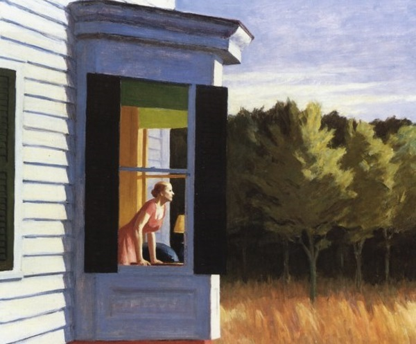 "Edward Hopper, ""Cape Cod Morning,"" 1950"