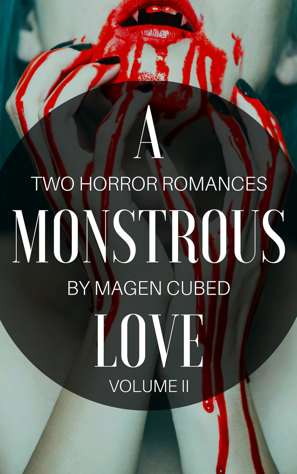 """Just in time for Halloween…."" - A MONSTROUS LOVE VOLUME II, two F/F erotic  horror romances. This year, a woman gives herself in every way to the demon she loves in BLOOD AND BREATH, while a vampire submissive does her best to please her human domme in HUNGER IN BONDAGE. Demons, vampires, leather, and blood in two short stories about monstrous women in love.  AVAILABLE ON AMAZONAVAILABLE ON ITCH.IO"