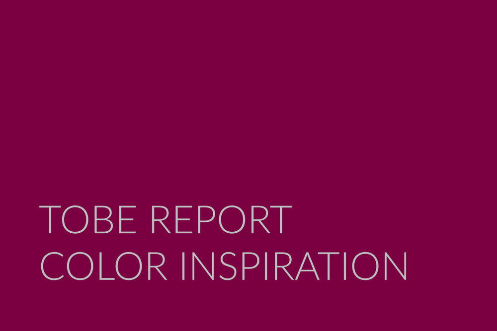 A Color Trend Forecasting Publication