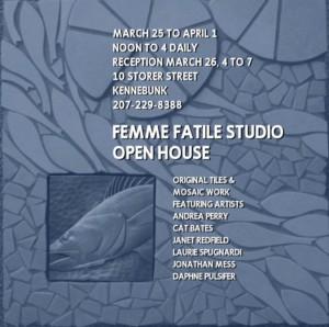 Jonathan Mess at Femme Fatile Studio OPEN HOUSE