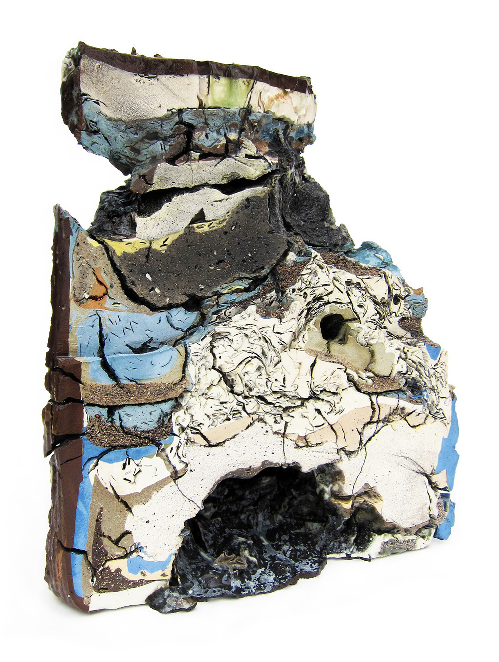 "<em>Landfill No.9: Northeastern Cross Section</em> <span style=""color:#CC0000;font-size:1.5em;"">•</span>"