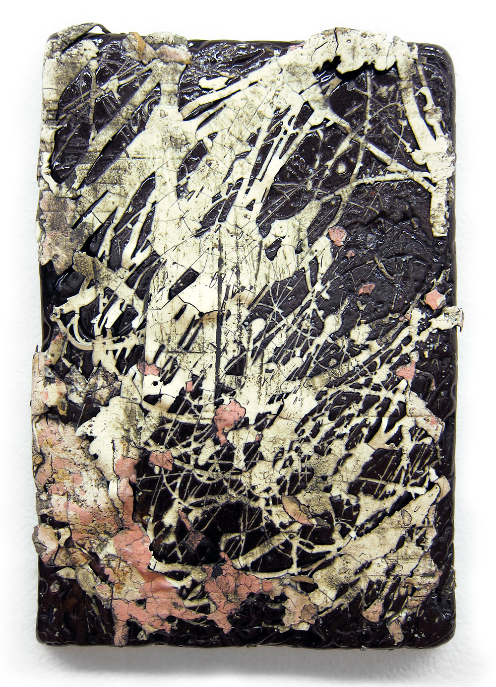 "<em>Small Traces Slab No.5</em> <span style=""color:#CC0000;font-size:1.5em;"">•</span>"