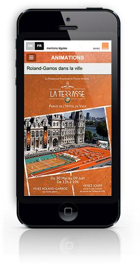Orange Roland Garros 2013-2014