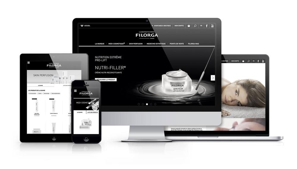 Filorga | site e-commerce
