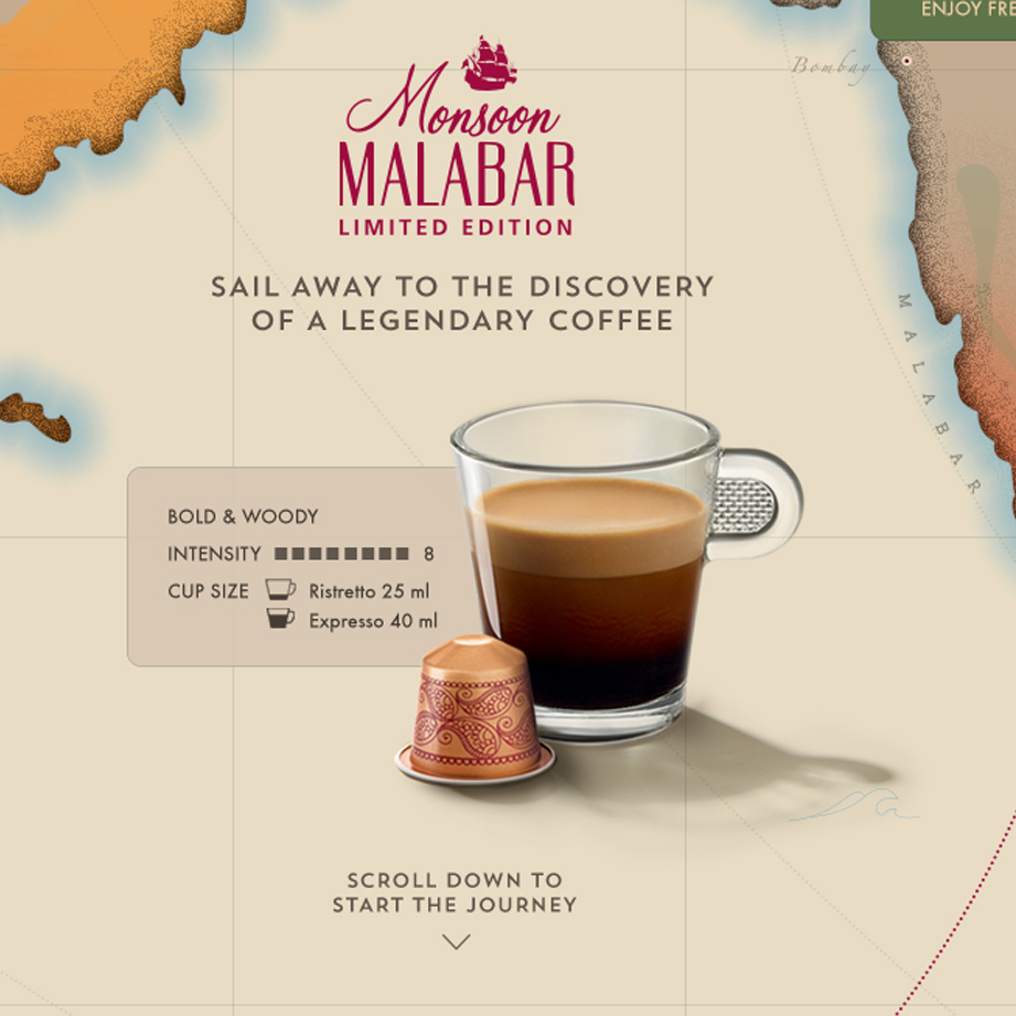 Nespresso | Monsoon Malabar