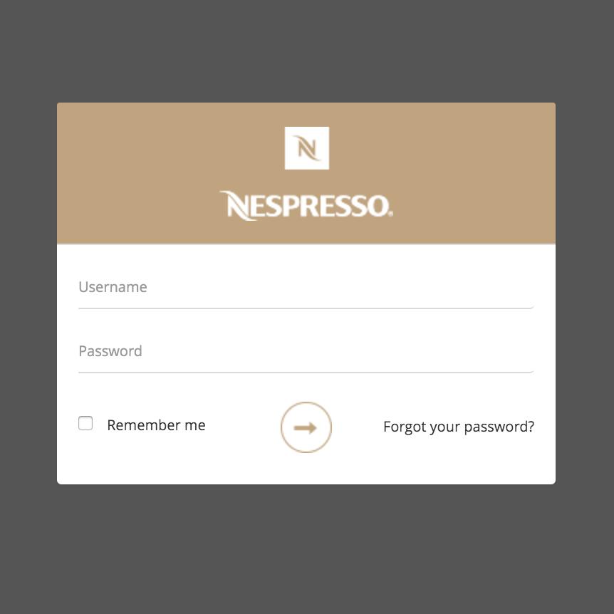 <b>Nespresso</b>   Administration