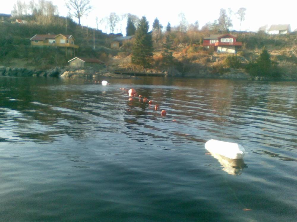 Det andre garnet av samme typen på motsatt side av Søviksundet,