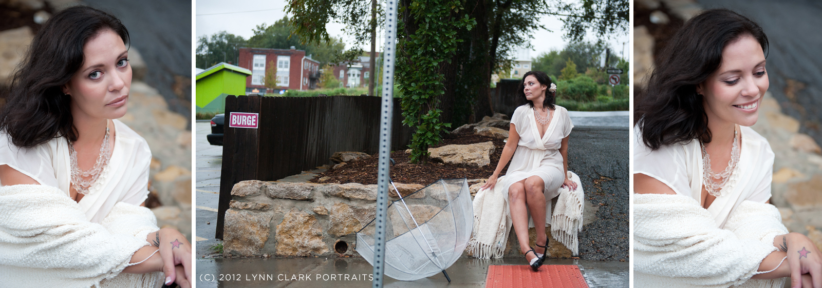 Outdoor boudoir photos can tell a great story.