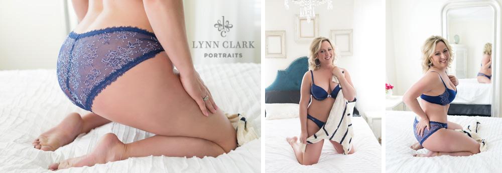 Do a strip-tease in your boudoir photos