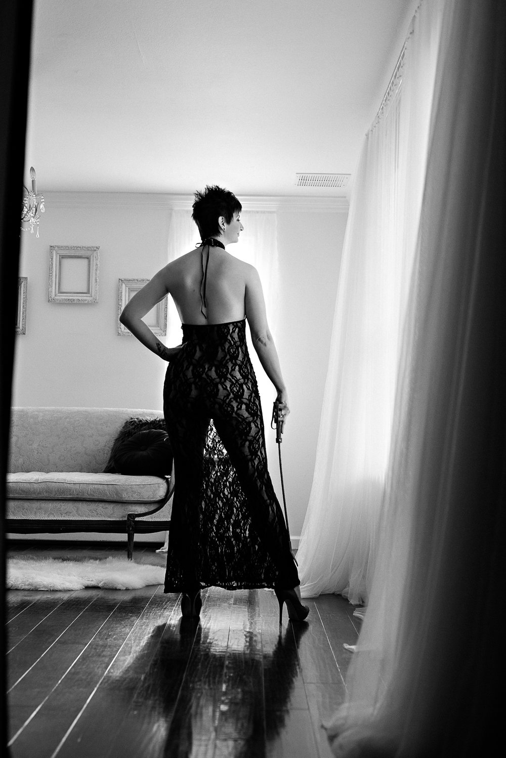 Empowered woman Denver boudoir photoshoot