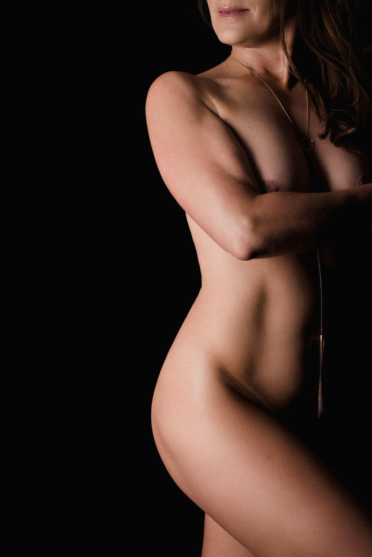 Artistic nude bodyscape