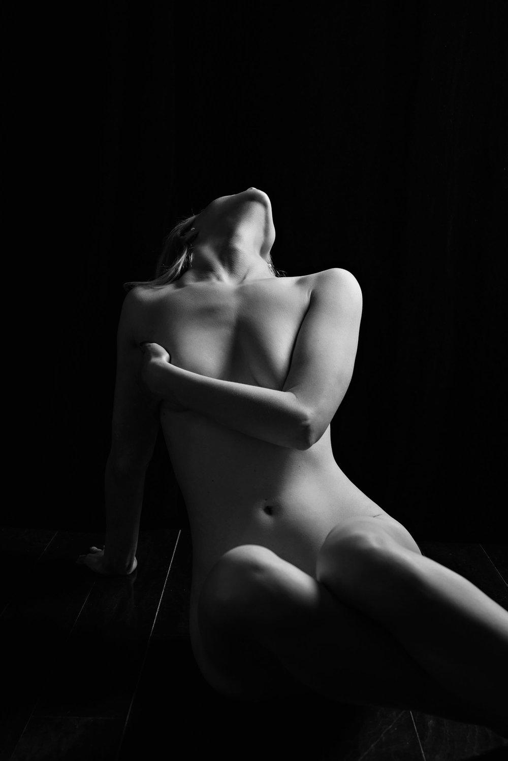 Fine art nude bodyscape