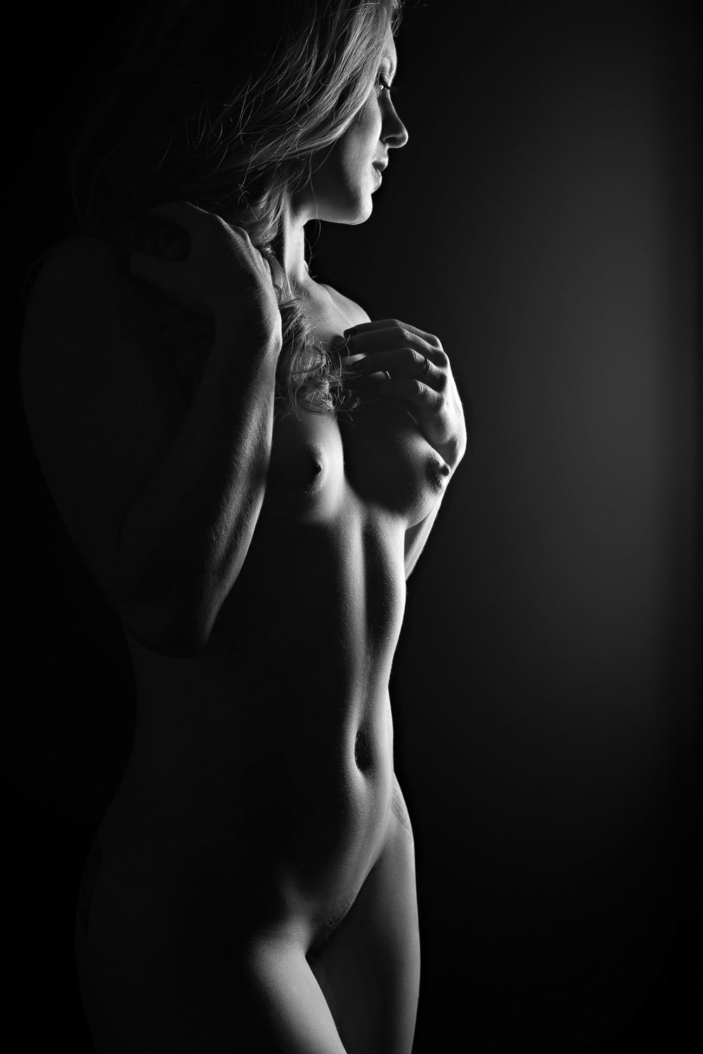 Denver art nude photographer black and white