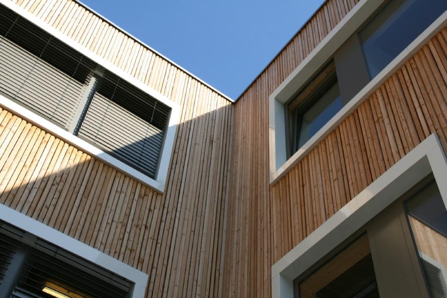 Detailansicht Rudolf-Steiner-Bildungszentrum (c) Kersten Kopp Architekten GmbH