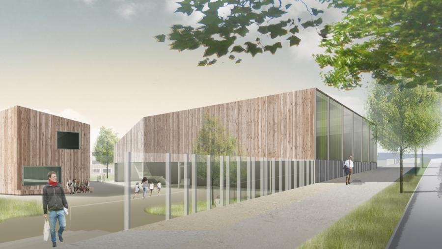 Ansicht von der Bornaischen Straße (c) Kersten Kopp Architekten GmbH