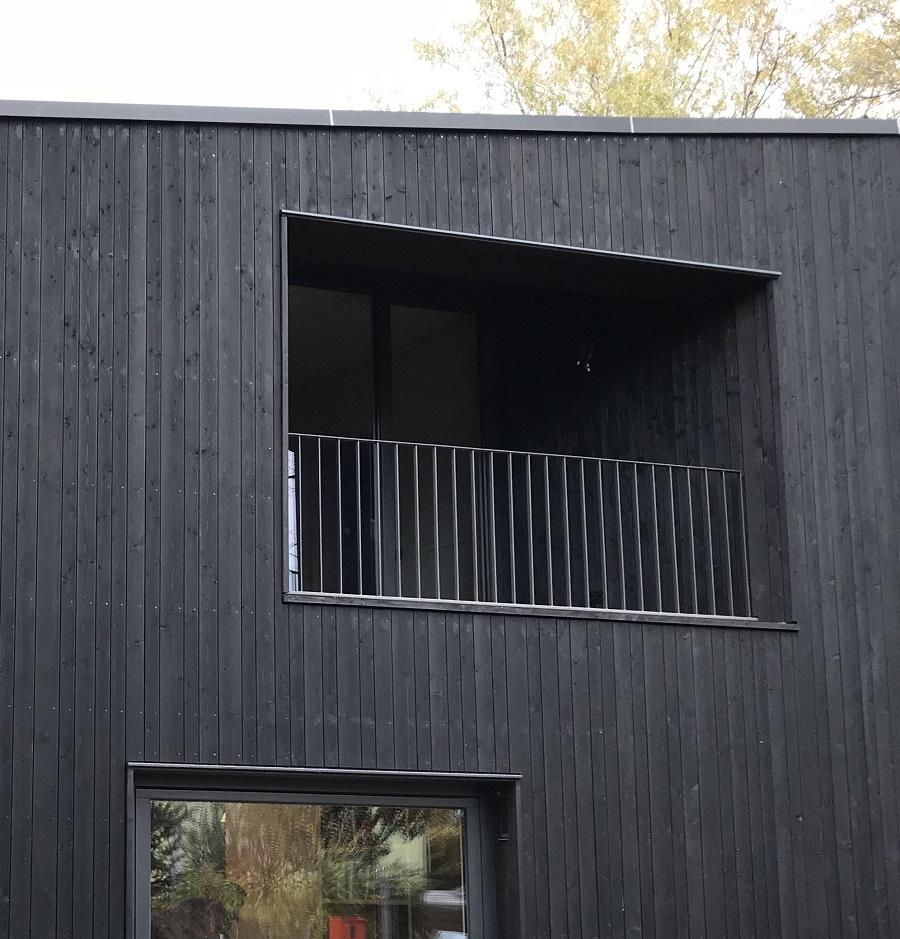 Wohnhaus L - Südostfassade (c) Kersten Kopp Architekten GmbH