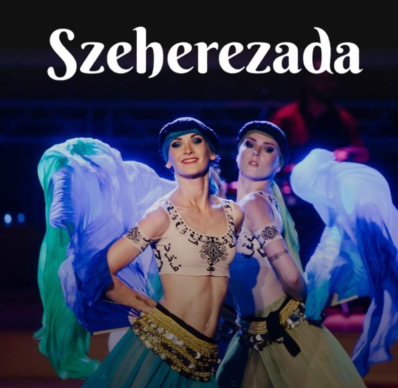 SZEHEREZADA - Historia opowiedziana muzyką, tańcem i światłem. Pierwsze w Polsce widowisko multimedialne inspirowane baśniami tysiąca i jednej nocy. Ruch, kolor, światło, muzyka pełna tanecznych rytmów, zmysłowy taniec, kostiumy (z wykorzystaniem techniki bodypainting'u) oraz niezwykle barwne wizualizacje przeplatane obrazami malowanymi piaskiem. Muzyka widowiska to połączenie nurtu ethno i jazzu w wykonaniu znakomitych instrumentalistów orkiestry Filharmonii Futura.SCENARIUSZ,MUZYKA,REŻYSERIA: MIKOŁAJ BLAJDAPRODUKCJA: SYLWIA LORENS