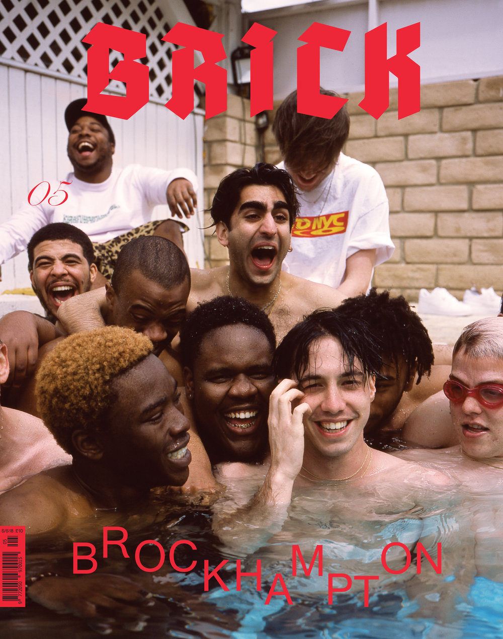 Brockhampton - 2018, Brick Magazine Cover Story