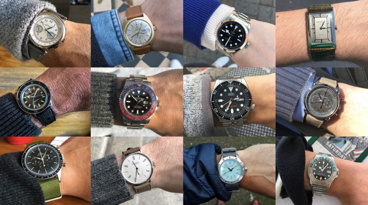 Hodinkee:  Watch I Wore More 2017