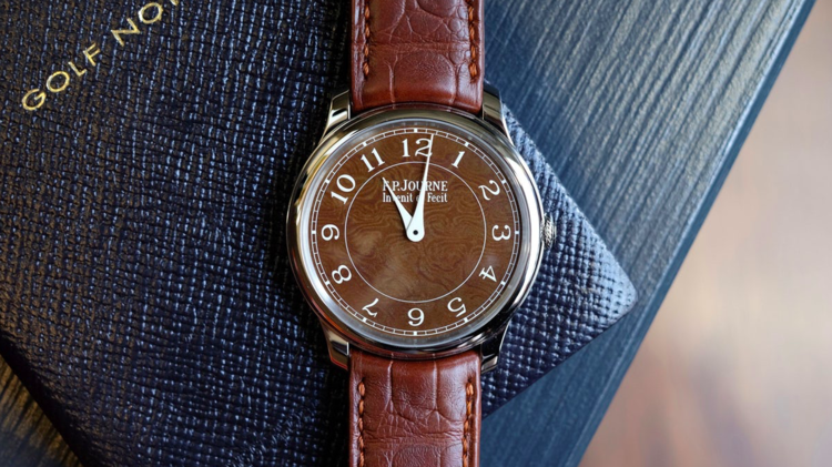 Hodinkee:  Introducing FP Journe Holland + Holland